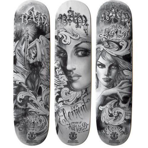 4a583b3d2a0b of course the Kat Von D skateboards are the only ones I've liked so far