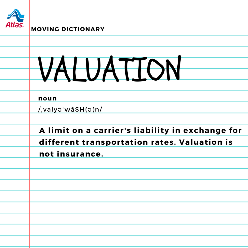 This Week S Wordoftheweek Is Valuation Find The Definitions Of Everything From Abnormal Sale To Zoning In This Easy To Moving Tips Moving Moving Company