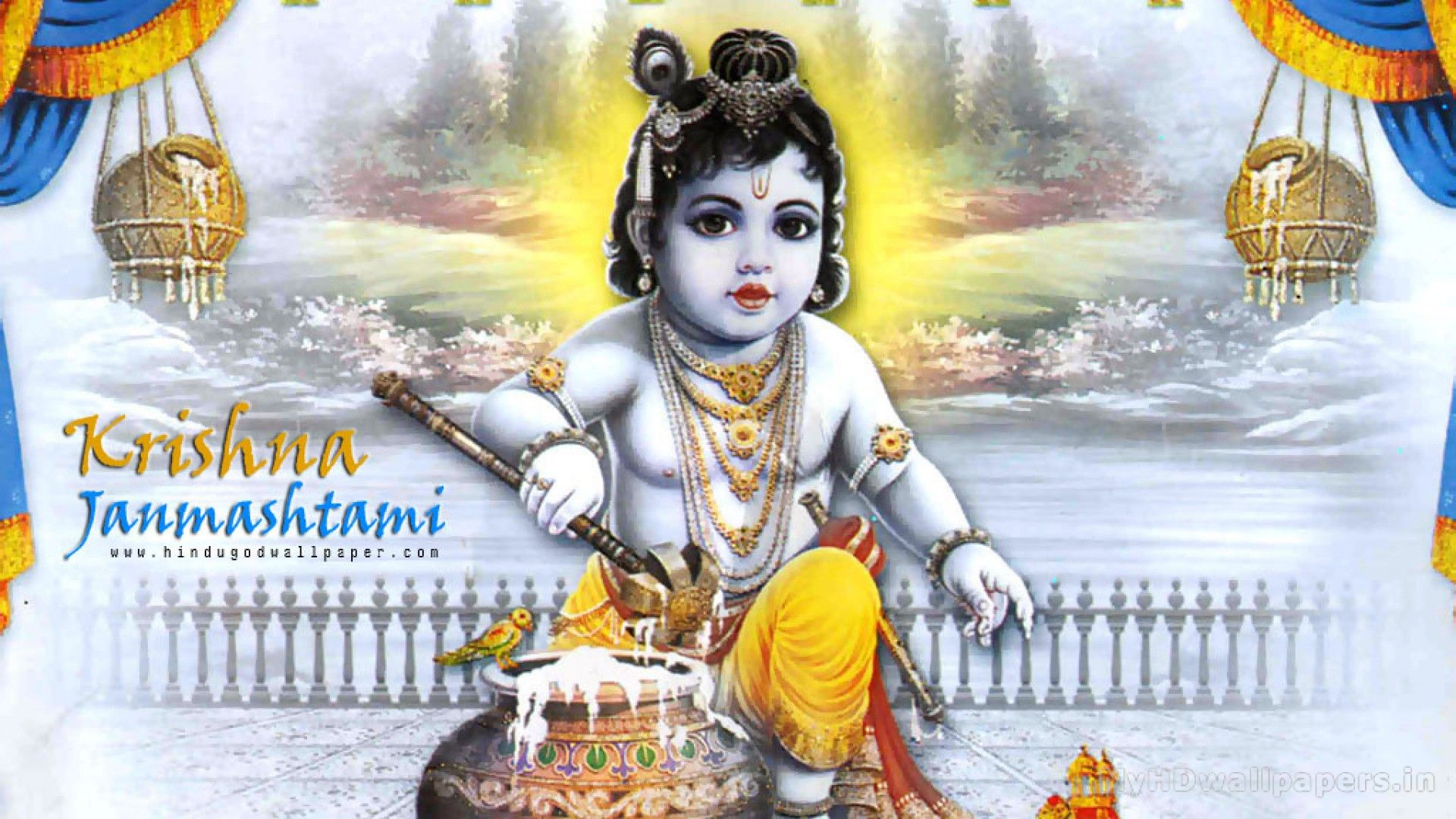 Pin By Hd Wallpapers On Hd Wallpapers Janmashtami