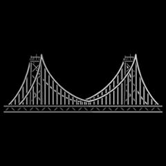 San Francisco California Bay Bridge Emoji Icon Keyboard App By San Franciscoji Sanfrancisco Sanfran Bayarea Baybrid San San Francisco California Bay Bridge
