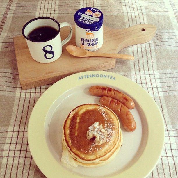 Pancakes & Sausages