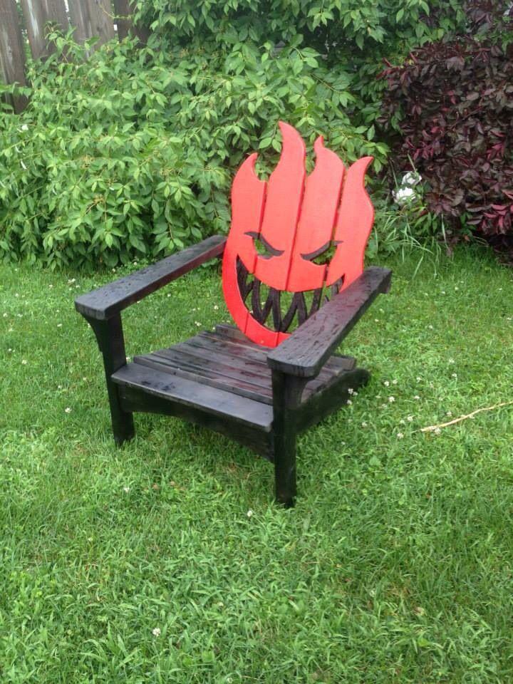 Spitfire adirondack muskoka chair | Wood | Pinterest | Sillas ...