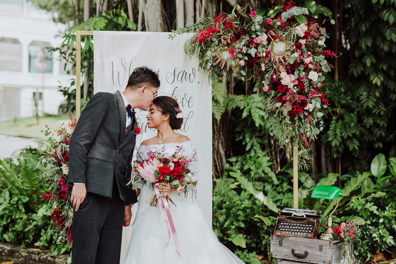 These Beautiful Real Weddings Cost Singapore Couples Less Than 30k Wedding Costs Romantic Bohemian Wedding Dresses Rustic Wedding Gowns