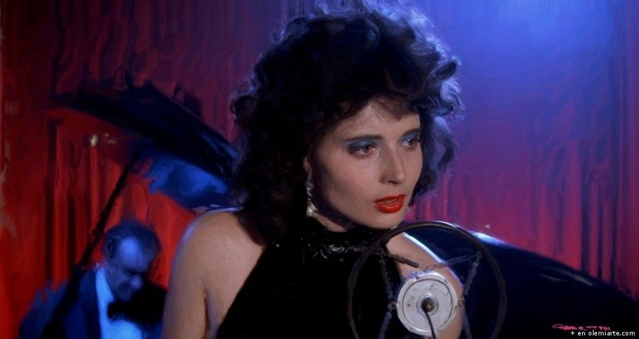 Isabella Rossellini en Terciopelo Azul (David Lynch - 1986)