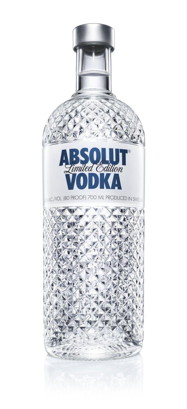 Goede Absolut Vodka - Limited Edition: Absolut Glimmer (2011) | Absolut BK-92