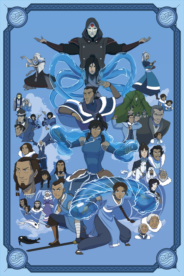 These Avatar: The Last Airbender Posters Have Mastered All Four Elements