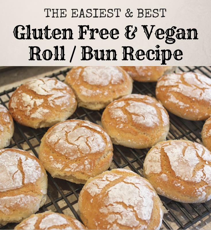 Vegan Recipe In 2020 Gluten Free Vegan Bread Gluten Free Buns Recipes