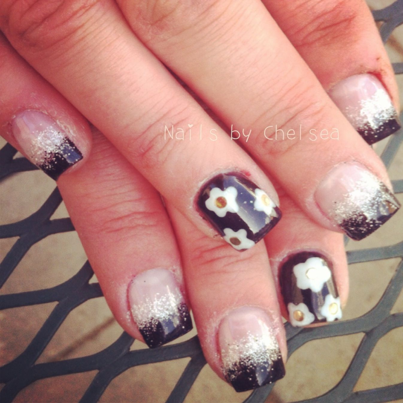 Marc Jacobs Daisy nails 2013 | Nails by Chelsea Devine | Pinterest