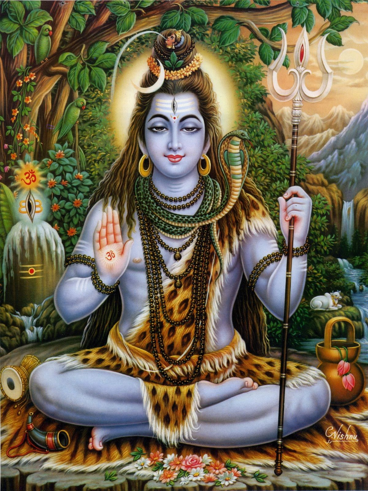 Lord Shiva mobile full HD new wallpapers | HD Wallpapers ...