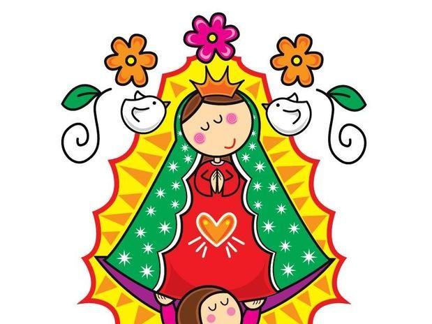Imagenes De La Rosa De Guadalupe Para Pintar Imagui Fondos De Pantalla