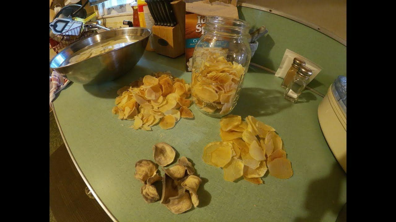 Dehydrating Potatoes. The Way I do it for Beautiful Dried