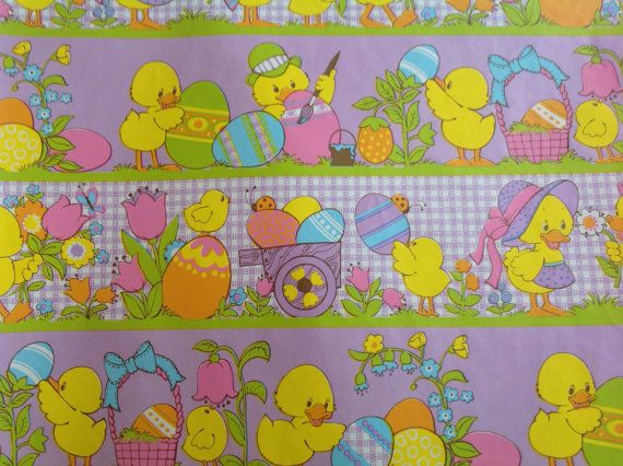 Vintage hallmark easter gift wrap paper by hannahandhersisters vintage hallmark easter gift wrap paper by hannahandhersisters 145 negle Images