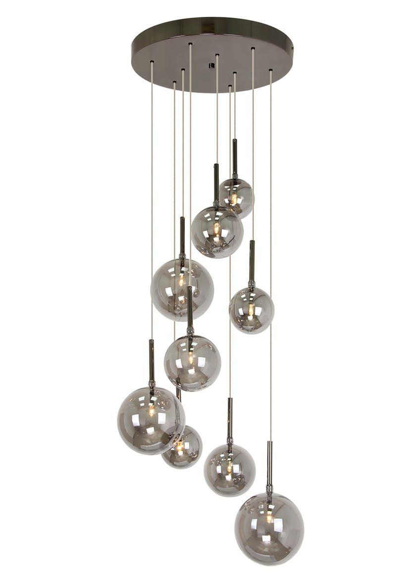 4530c67be4be Elara Cluster Pendant Light (H100cm-57cm x W25cm) – Multi – Matalan