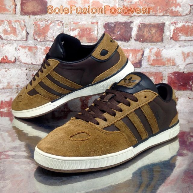 1b26cb4d6 adidas Originals Mens CIERO Trainers Brown sz 6 ST Skate Sneakers US 6.5 39  1/3 | eBay