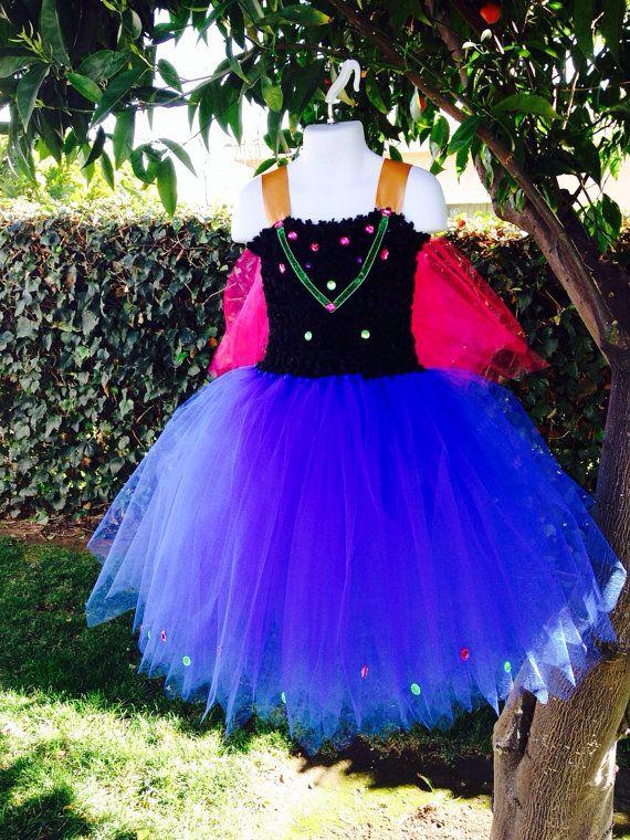 Anna Frozen Tutu Dress By 2Twos On Etsy 6500