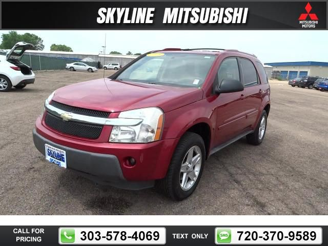 2005 Chevrolet Chevy Equinox Lt Red 6 550 141818 Miles 303 731