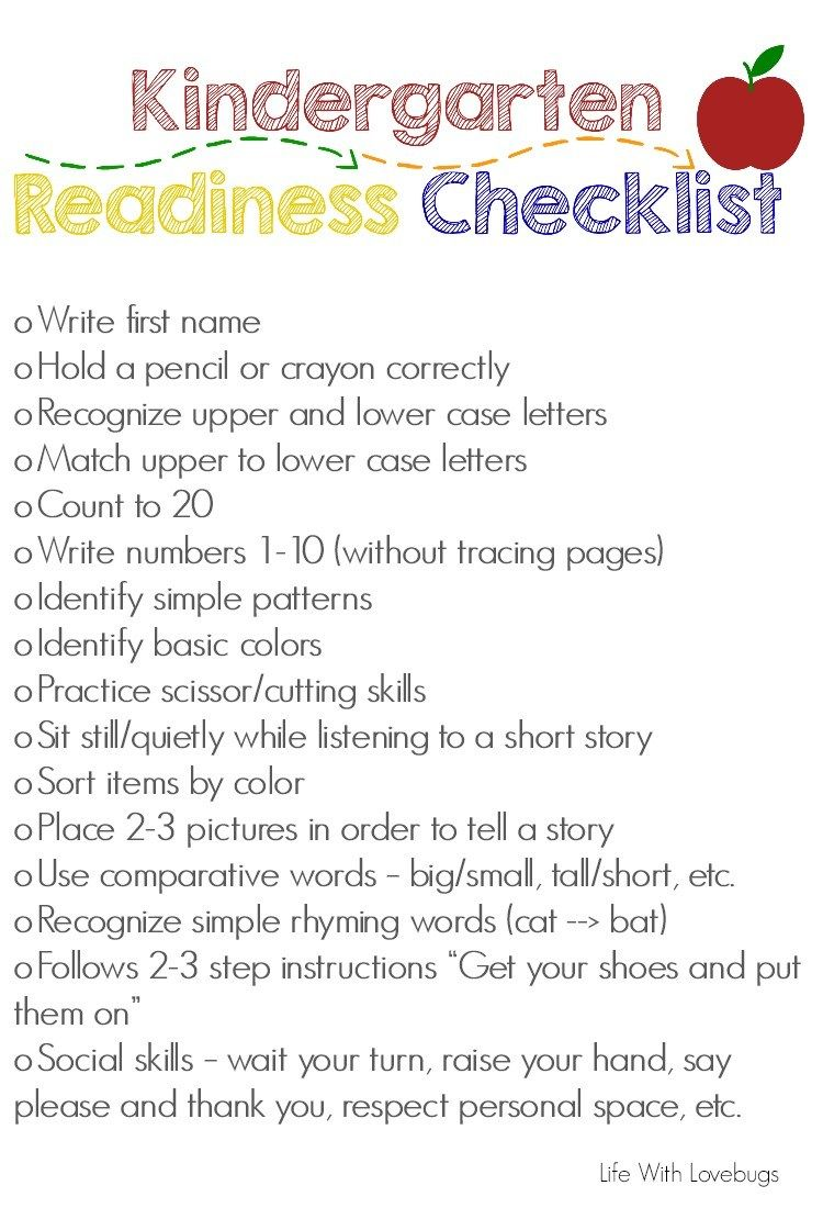 Irresistible image throughout kindergarten readiness assessment printable