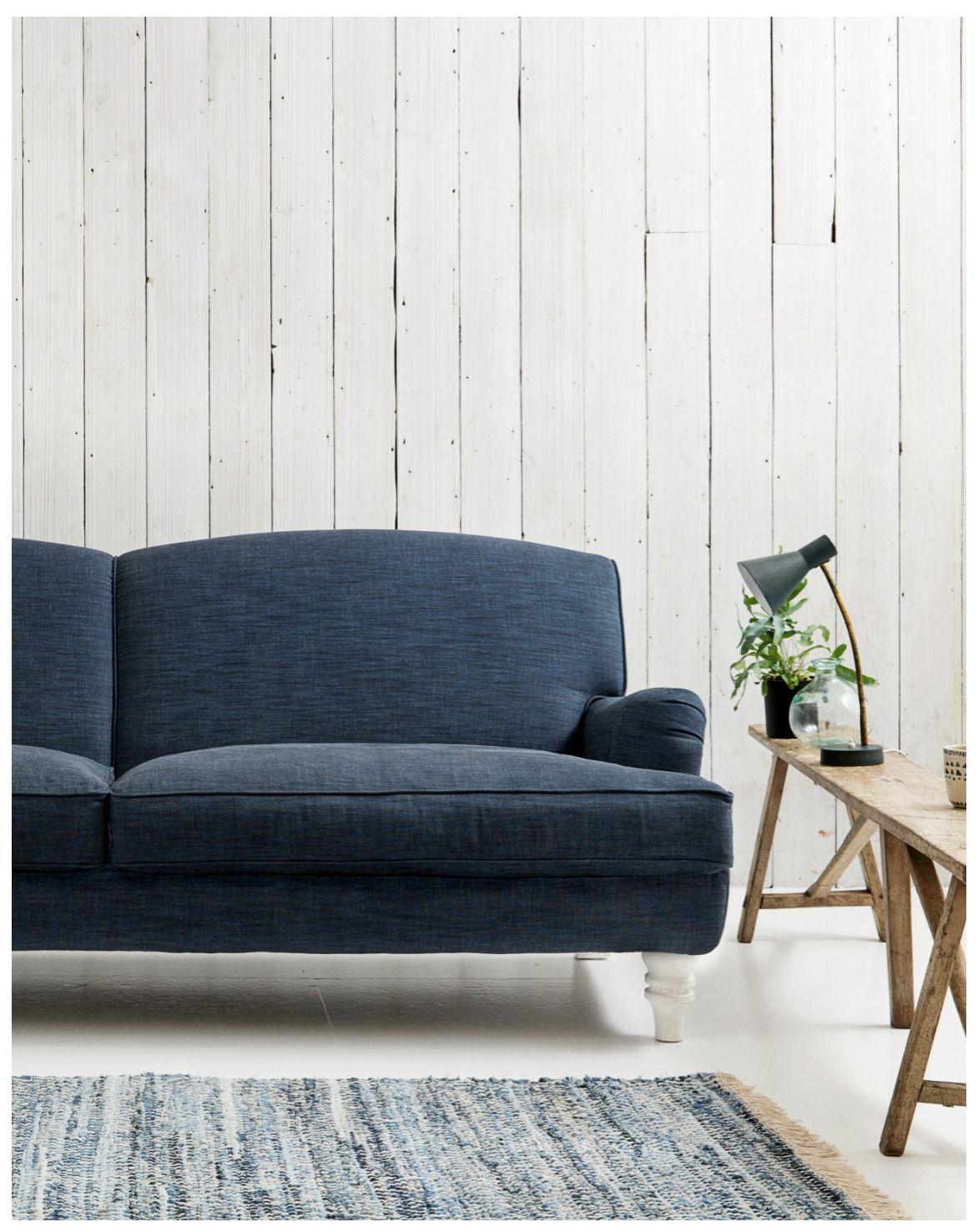 Beautiful MODERN SOFA INSPIRATION/ Eliza Sofa   The Classic Sofa Shown Here In A Navy  Fabric Is Our Best Selling Sofa Design For A Reason. Its Fits In Both  Classical ...