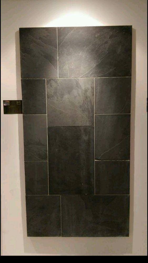Brazilian Black Slate Floor Wall Natural Tiles Woon Ideen