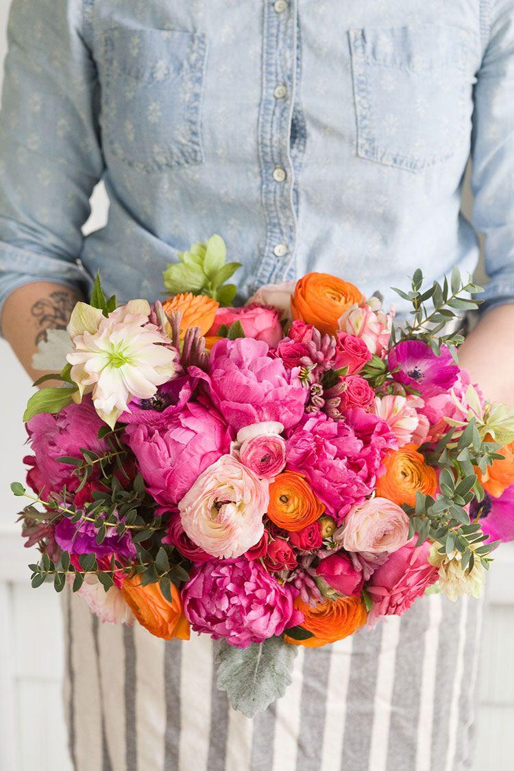Make Your Own Summer Wedding Bouquet | Summer wedding bouquets ...