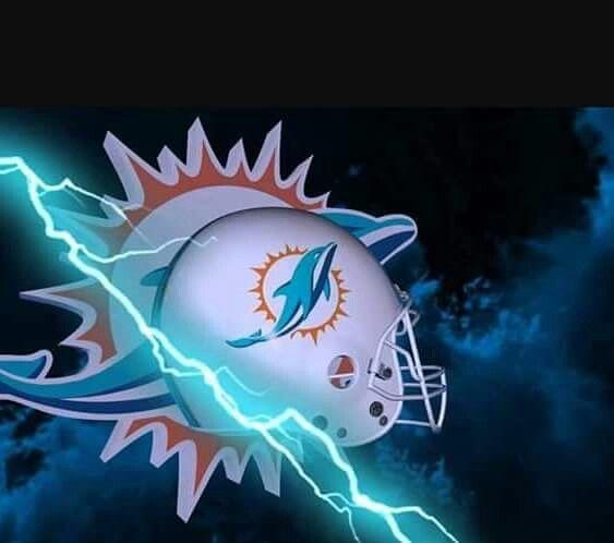 Escudo y casco delfín con rayo National Football League 8fdf5fd708f