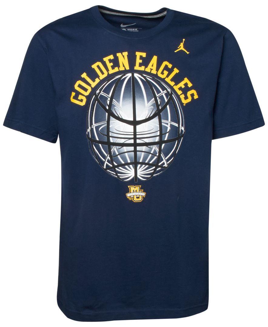 Nike Men's Short-Sleeve Marquette Golden Eagles T-Shirt
