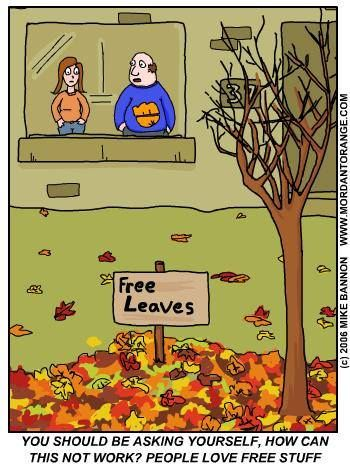 Happy first day of fall! This'll work - right? For more ...
