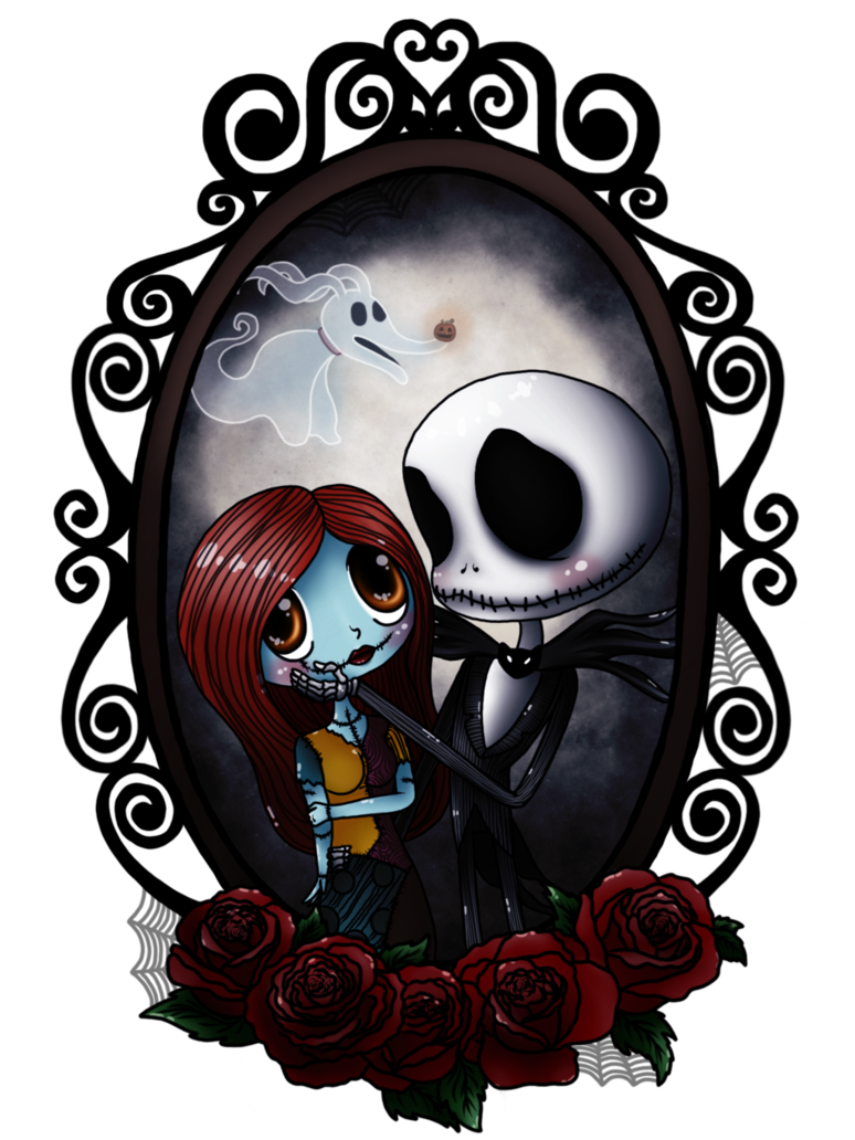 Jack and Sally by SupernaturalTeaParty Nightmare before