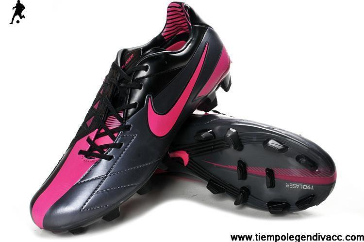 Cheap Nike Total 90 Laser IV FG - Dark Grey-Black-Solar Red Football