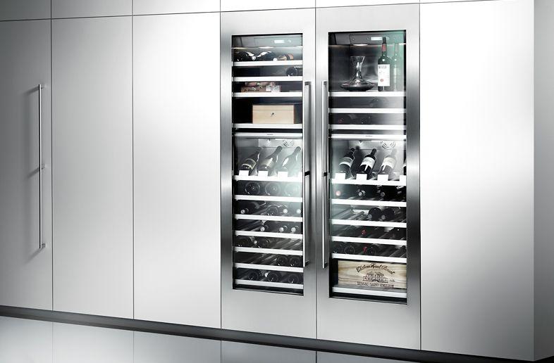 Gaggenau Kühlschrank Side By Side gaggenau appliances vario wine climate cabinet 400 series rw 464