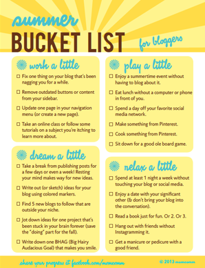 create a bucket list online free