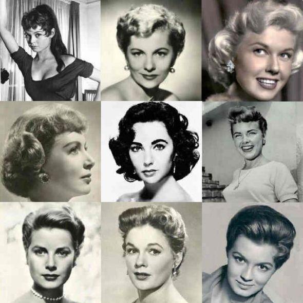 1950 Hair Styles Images 1950s Hairstyles Peinados Antiguos