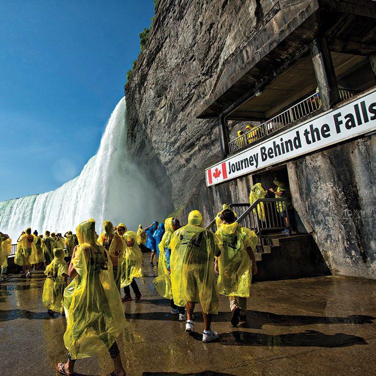 Journey Behind the Falls Observation Deck