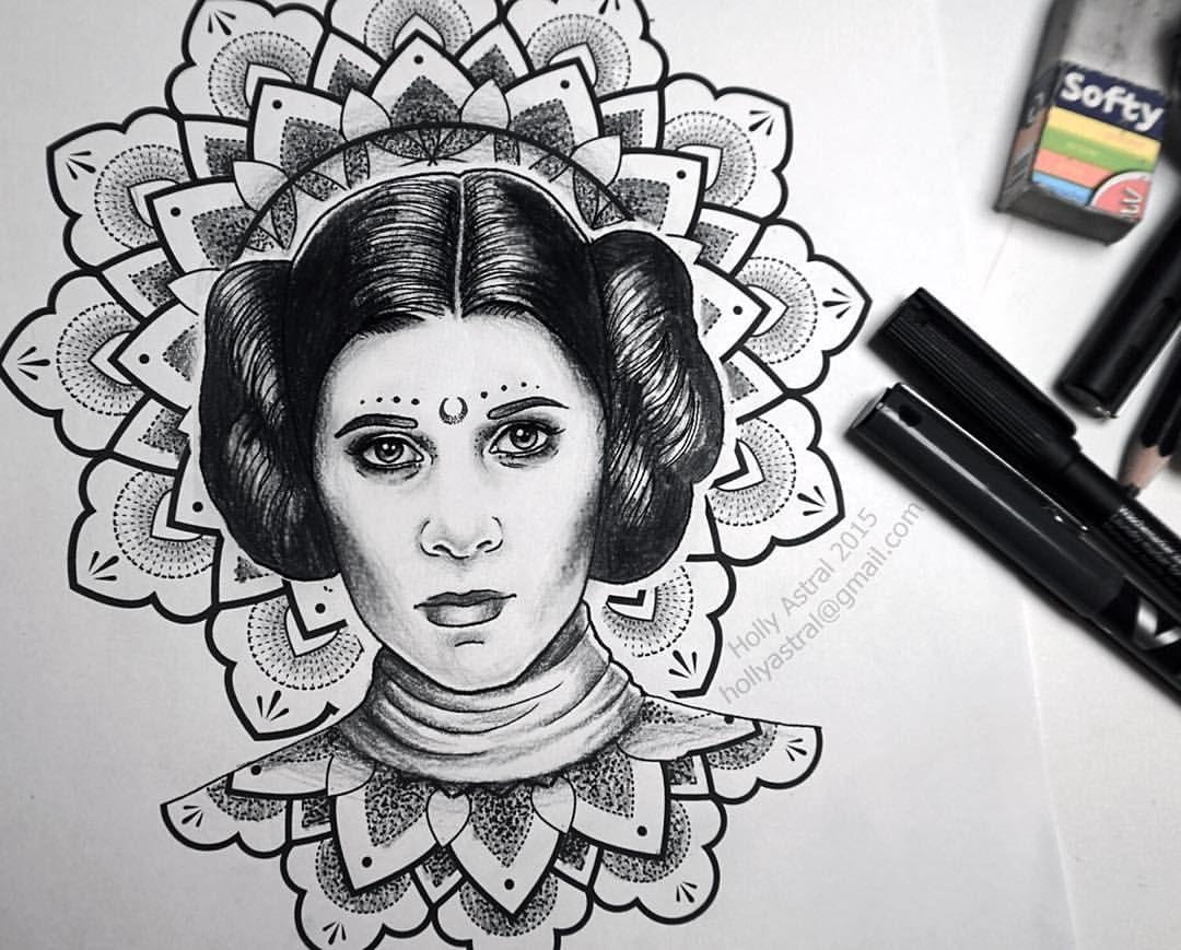 My Take On Princess Leia I D Love To Tattoo Her So If You
