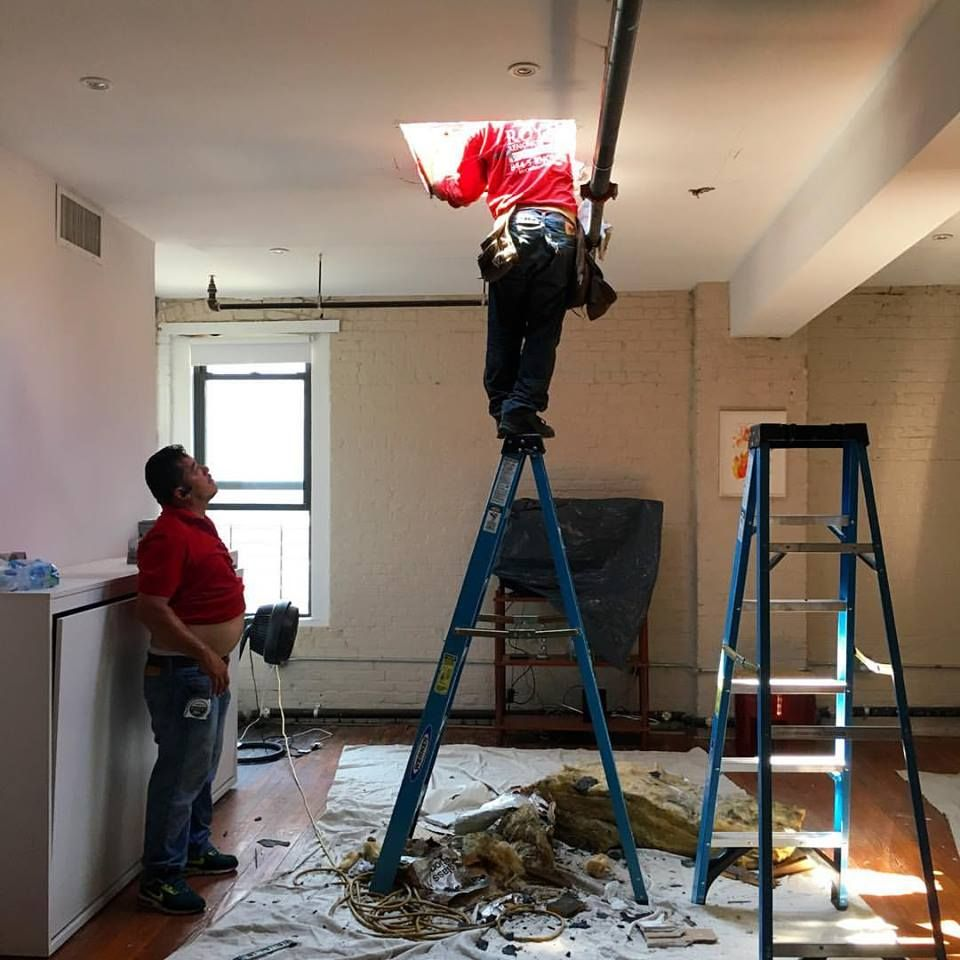 Skylight Installation On Flat Roof In Park Slope Brooklyn Ny Skylight Installation Skylight Park Slope Brooklyn