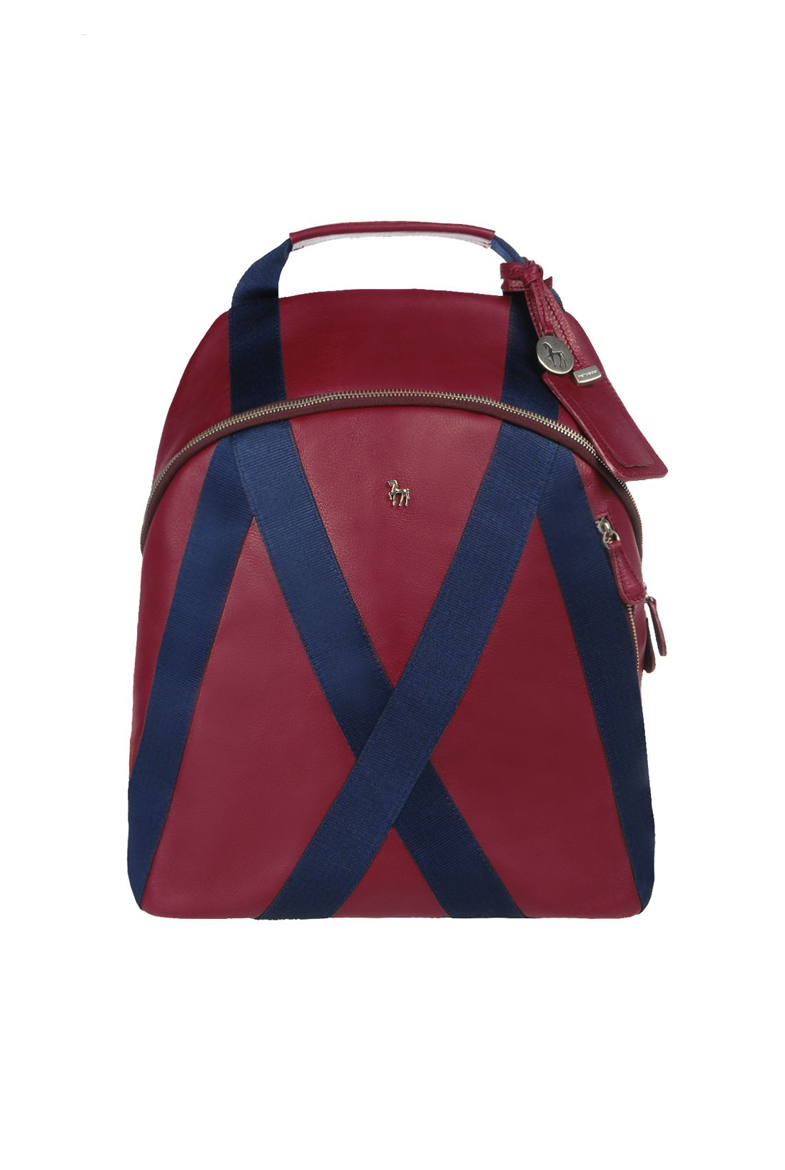 94210e610687 Maroon and Blue Backpack in our online shop  www.petusco.com en ...