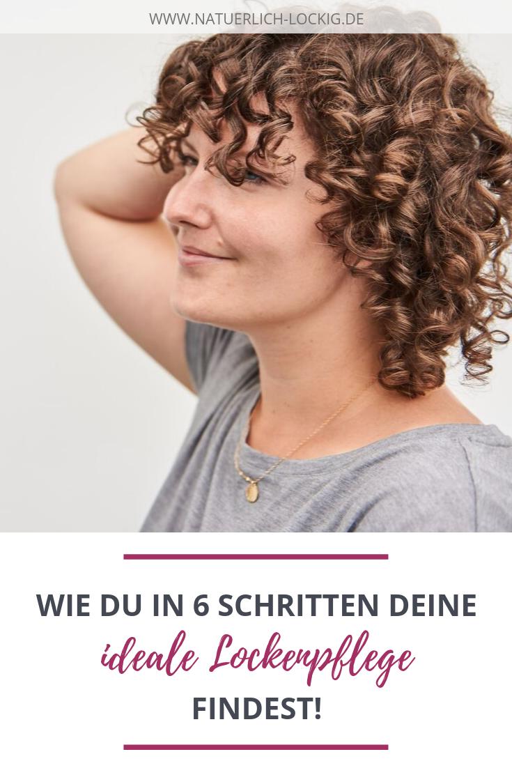Lockenpflege Mit Kopfchen Finde In 6 Schritten Deine Idealen Pflegeprodukte Und Spar Dabei Zeit Geld Und Nerven Locken Machen Haare Pflegen Lockenpflege