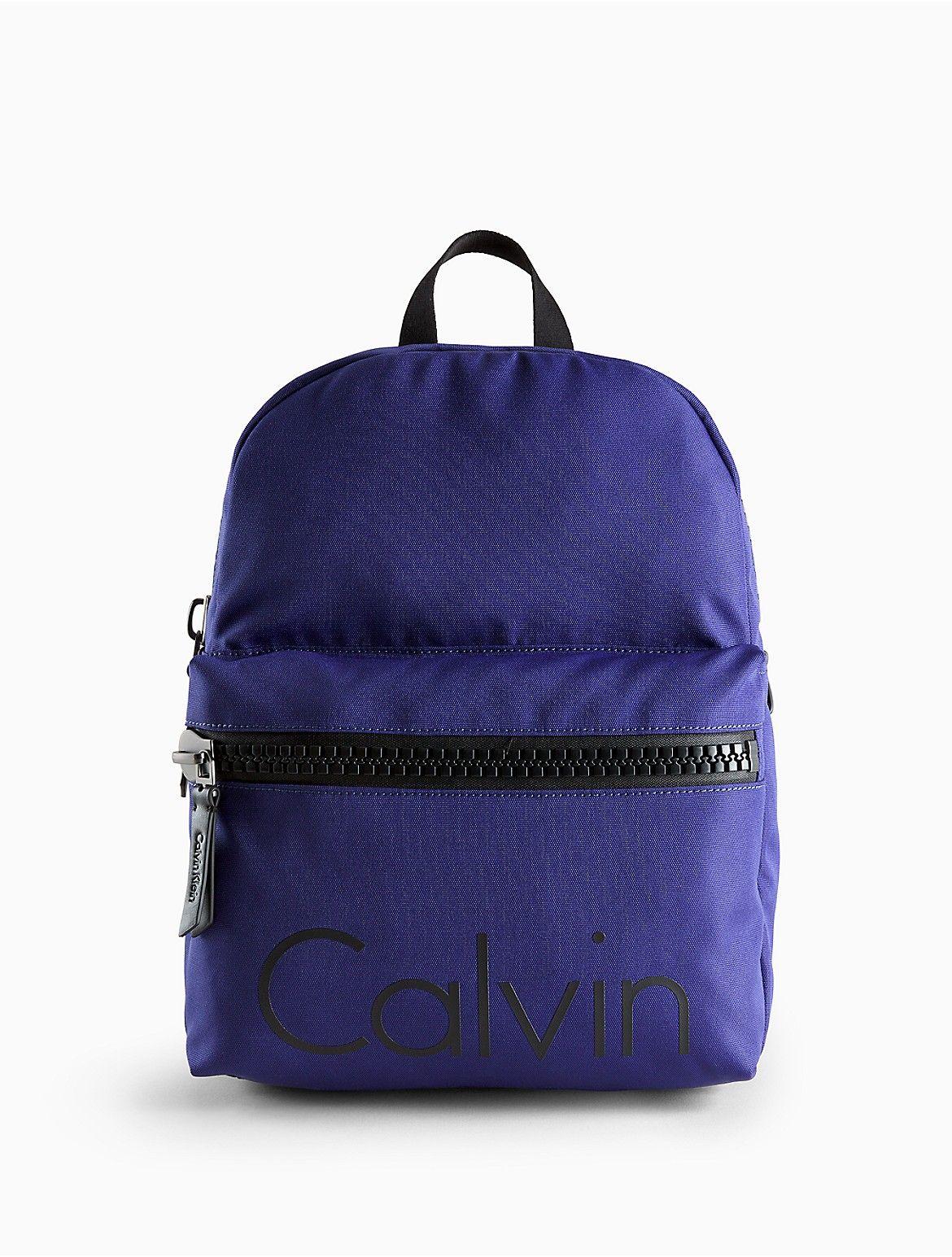 e9926fe4425 Force textured cotton backpack | Men's Fashion | Backpacks, Calvin ...