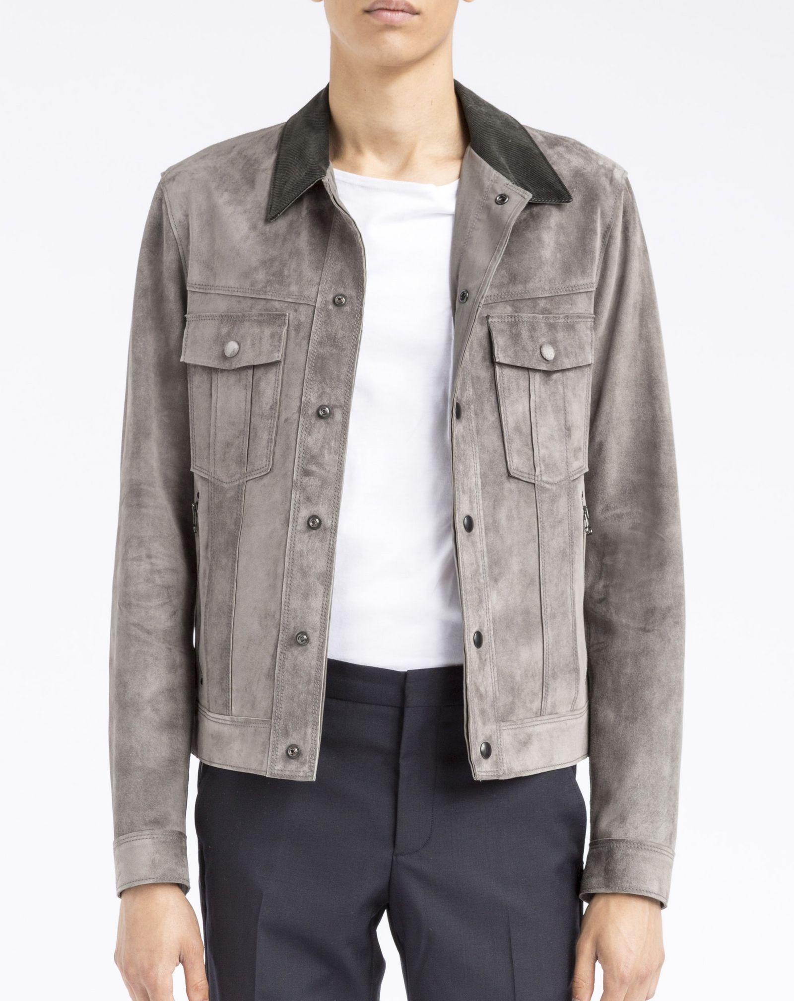 Lanvin Suede Jacket, Outerwear Men | Lanvin Online Store