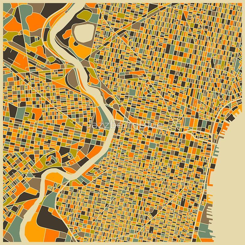 PHILADELPHIA print by JazzberryBlue   Philly Decor   Pinterest ...