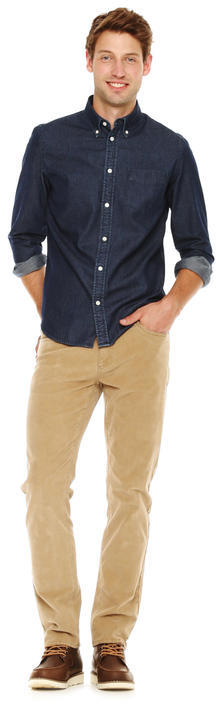 bed64cff5a5 Joe Fresh Men s Slim Fit Denim Shirt - Medium Wash
