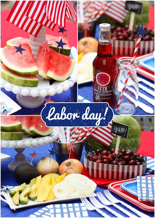 host a labor day grilling party patriotic party ideas red white blue pinterest labour. Black Bedroom Furniture Sets. Home Design Ideas
