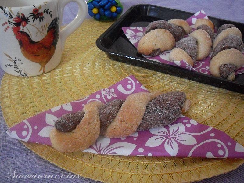 Ricetta biscotti da inzuppo bicolore