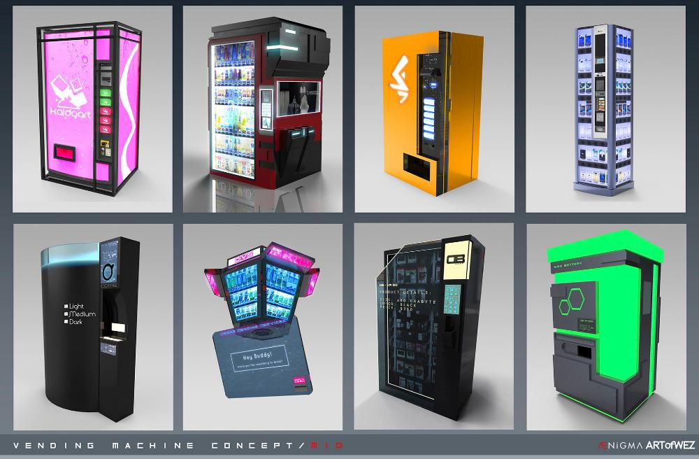 Portovend Vending Machine Concept