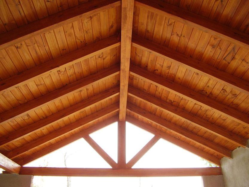 techo de madera buscar con google