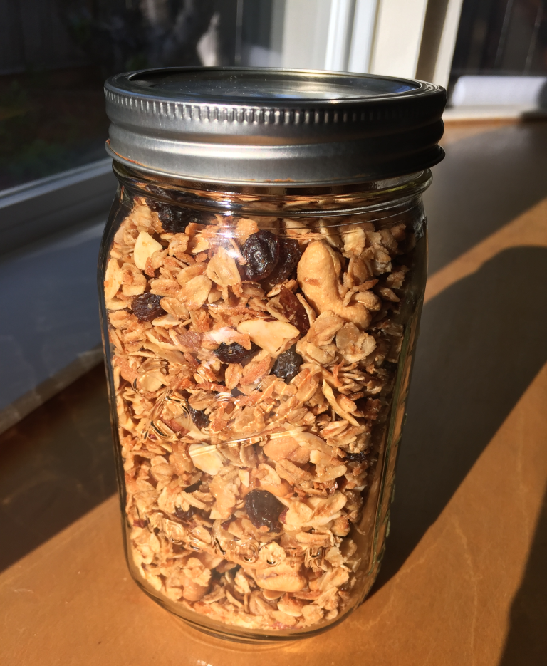 This granola is THE BEST. I've been making it for years ...