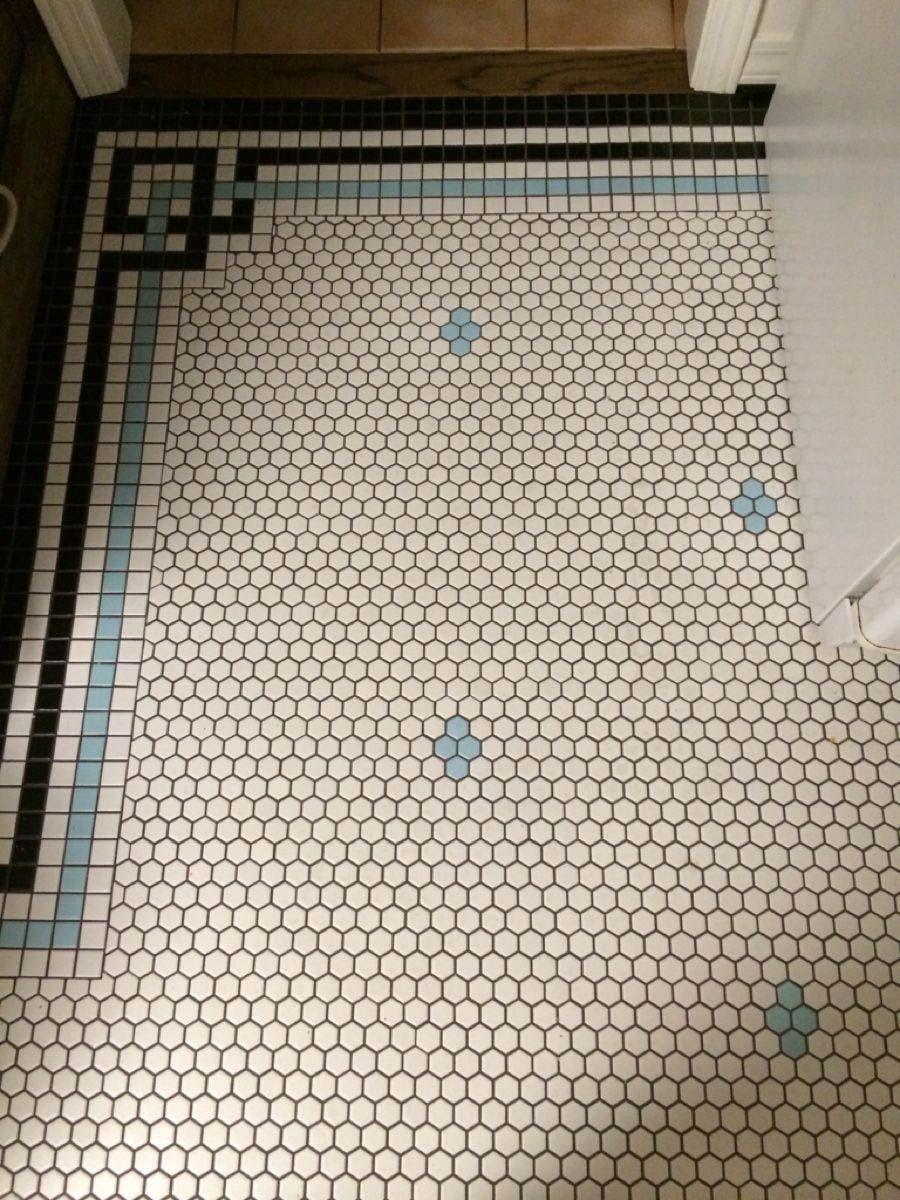 Trendy Non Slip Bathroom Flooring Ideas To Inspire You Vintagebathroom In 2020 Modern Flooring Non Slip Bathroom Flooring Patterned Bathroom Tiles