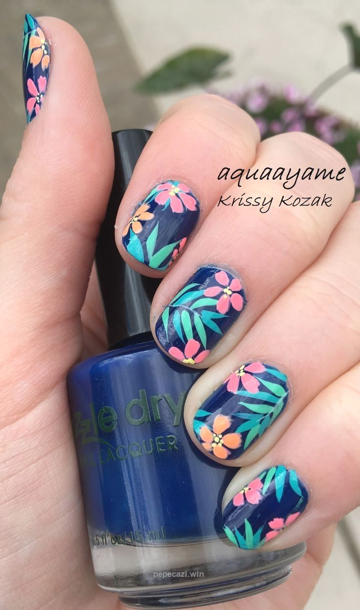 Tropical Nails! Nail Design, Nail Art, Nail Salon, Irvine, Newport Beach… - Tropical Nails! Nail Design, Nail Art, Nail Salon, Irvine, Newport