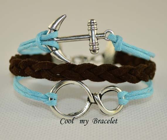 Handwoven personality infinite hand anchor by Coolmybracelet, $2.99
