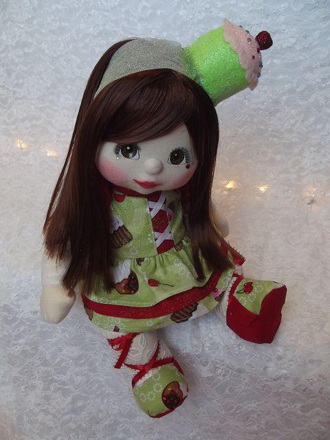 OOAK Mattel My Child Doll ~ Cupcake Cutie